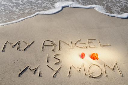 my angel is my mom